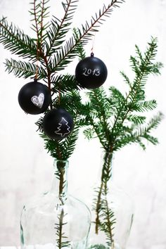 I´m dreaming of a black Christmas. | titatoni ❥ DIY