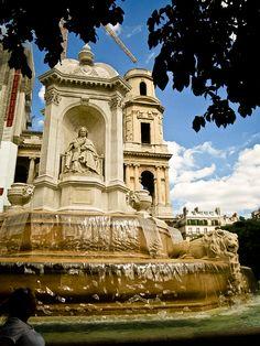 Paris. July 2008. By NikitaDB. St. Sulpice.