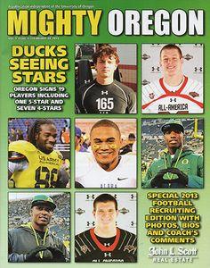 Feb 14 2013 Oregon Ducks Mighty Oregon Magazine Seeing Stars