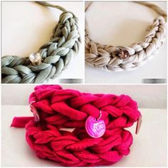 La forma más típica de trabajar el trapillo es tejiéndolo con agua de crochet o incluso a dos agujas pero, no debes quedarte ahí. Hay mu...