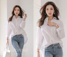 Korean Women`s Fashion Shopping Mall, Styleonme. Korean Winter Outfits, Korean Outfits, Korean Clothes, New Fashion, Women's Fashion, Fashion Outfits, Fashion Design, Fashion Tips, Sweet Jeans
