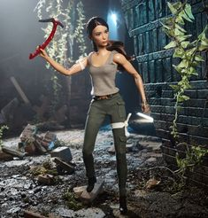 Dont call it an action figure thats a Tomb Raider Barbie doll