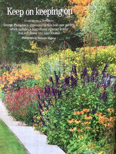 Muntons rose cages at Great Martins Runner Beans, Herbaceous Border, Obelisks, Rose, Garden, Flowers, Pink, Garten, Lawn And Garden