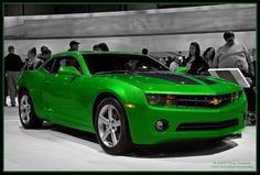2010 Chevrolet Camaro Synergy Special Edition--Love the green color!