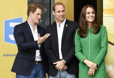 Pin for Later: Kate, William, and Harry Bring Royal Flair to the Tour de France