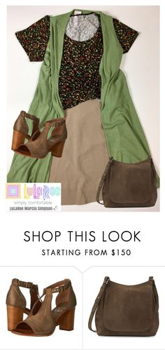 """""""Earthy style:  Azure skirt, Classic Tee, Joy Vest"""" by popupsbymarcia on Polyvore featuring Miz Mooz and The Row"""