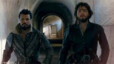 The Musketeers  Porthos et Athos