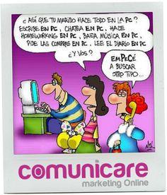 MARKETING ONLINE - PAGINAS WEB EN GALICIA - DISEÑO WEB  Un poco de humor en esta mañana de viernes...  www.comunicarevigo.wordpress.com
