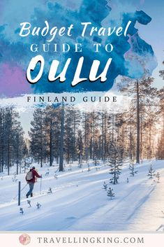 You can visit Oulu on a budget. In fact, we put together this budget travel guide to Oulu, to help you to do just that! Croatia Travel, Thailand Travel, Bangkok Thailand, Hawaii Travel, Italy Travel, Budget Travel, Travel Guide, Travel Plan, Finland Travel