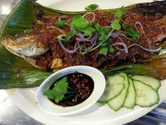 Ikan Bakar. Grilled Fish