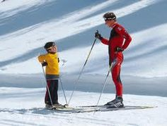 Go Skiing, even if I'm in the children's lessons and only go down the bunny hills!