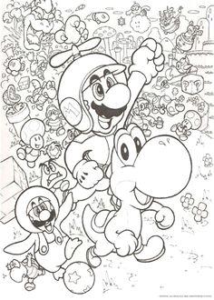 Die 13 Besten Bilder Von Ausmalbilder Mario Coloring Pages