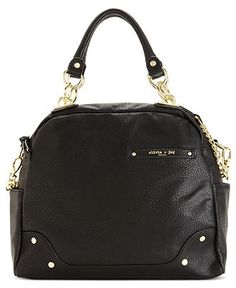 Olivia Joy Handbag Dynamo Bowler Satchel Handbags Accessories Macy S