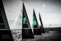 Abstract Building Southend Pier by photonebs