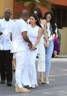 Pin for Later: Of Course, the Kardashian Family Wore Matching Easter Outfits