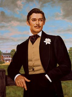 """Clark Gable (Rhett Butler) - """"Gone With the Wind"""" Classic Hollywood, Old Hollywood, Hollywood Glamour, Wind Movie, Rhett Butler, Tomorrow Is Another Day, Clark Gable, Cinema, Gone With The Wind"""