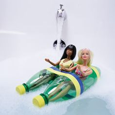 guaranteed to make bathtime fun.......my daughters will love it