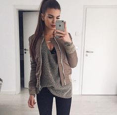Find images and videos about fashion, style and outfit on We Heart It - the app to get lost in what you love. Fashion Moda, Look Fashion, Fashion Outfits, Fall Winter Outfits, Autumn Winter Fashion, Casual Outfits, Cute Outfits, Winter Stil, Inspiration Mode