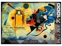 Eurographics: Kandinsky - Yellow, Red, Blue (1000)