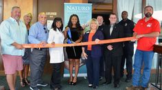 Naturo Health / Ageless Spa Celebrates   Grand Opening with Ribbon Cutting     Cearra Jenkins and Dr. Christy Jenkins celebrated the grand re-opening and newly remodeled offices of Naturo Health Solutions and Ageless Spa Day Spa with a ribbon cutting on Thursday, August 17, 2017.     Joining Dr. Jenkins and Cearra Jenkins were representatives with the City of St. Charles, City of St. Peters Len Pagano and St. Peters Alderman Terri Violet and ambassadors with the Greater St. Charles County…