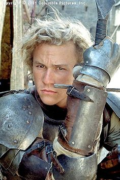 A Knight's Tale    Jocelyn: Better a silly girl with a flower than a silly boy with a horse and a stick.  Wat: It's called a lance. Hello?