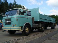 SKODA 706 RTTN of Czech Republic Vintage Trucks, Old Trucks, Old Wagons, Classic Trucks, Eastern Europe, Czech Republic, Vintage Signs, Volvo, Transportation