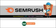 SEMRush Review 2021: Features, plans, pricing, how to use, and Importance Best Seo Tools, Seo Specialist, Social Media Influencer, Blogger Tips, Seo Tips, Best Wordpress Themes, Earn Money Online, Internet Marketing, Affiliate Marketing