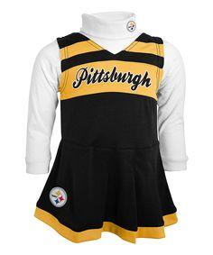 Outerstuff Pittsburgh Steelers Cheer Jumper - Toddler 162d13ada