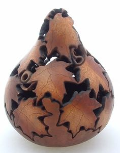gourds art - Decoration Fireplace Garden art ideas Home accessories Images Google, Bing Images, Gourds Birdhouse, Decorative Gourds, Gourd Lamp, Painted Gourds, Dremel, Pyrography, Garden Art
