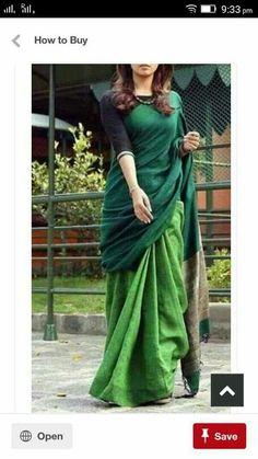 Pure Lenin sarees Price:2550 Order what's app 7995736811