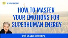 In this episode, I'm speaking with Dr. Joan Rosenberg about why emotional resilience, confidence, and managing negative emotions are the secret to an amazing life. Emotional Resilience, Emotional Strength, Negative Self Talk, Negative Emotions, Ask For Help, How To Increase Energy, Vulnerability, How Are You Feeling, Feelings