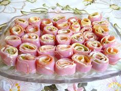 SPLENDID LOW-CARBING BY JENNIFER ELOFF: HAM AND OTHER COLD MEAT ROLL-UPS