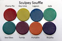 New Color Tuesday Part II: The Moroccan Souffle | Sculpey