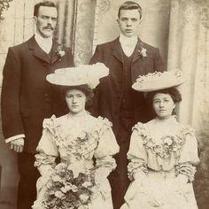 1890s BEAUTIFUL BRIDE & GROOM WEDDING CABINET CARD PHOTO VICTORIAN ANTIQUE