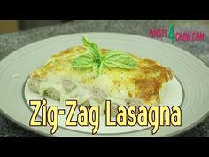 Zig Zag Lasagna! How to Make Zig-Zag Lasagna from Start to Finish - Quic...