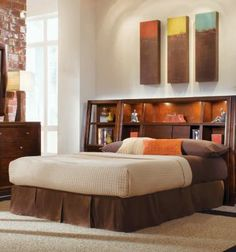 Tribecca King Bookcase Bed