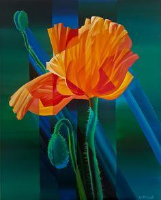"""""""Poppy flower"""" by Eugene Melamed"""