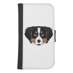 Illustration Bernese Mountain Dog Galaxy S4 Wallet Case  $23.20  by GreenOptix  - cyo diy customize personalize unique