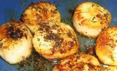 Diver Scallops with Balsamic Reduction | fastPaleo Primal and Paleo Diet Recipes