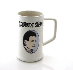 Gertrude Stein Beer Stein | 32 Ways To Turn Your Home Into A Book Lover's Paradise