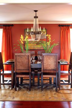love the color and especially for the dining room.