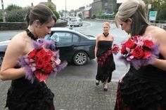 Bridesmaid Inspiration- Mix Or Match Your Beautiful Maids? Bridesmaid Inspiration, West Coast, Bridesmaids, Ireland, Crown, Weddings, Beautiful, Fashion, Moda