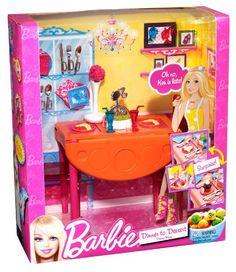 Barbie Size Kitchen Utensil Vegetable Accessories Set Set of