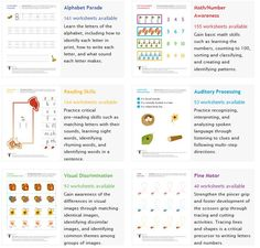SchoolSparks.com offers hundreds of FREE Kindergarten worksheets.