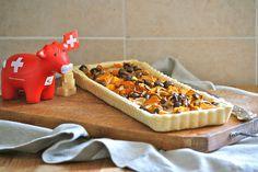La tana del coniglio: Torta salata d'autunno con Gruyère