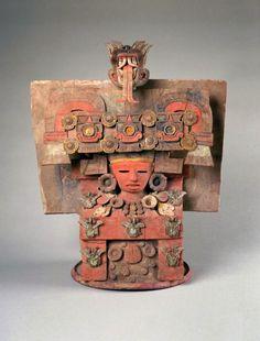 Pre-Columbian/Teotihuacan: Incense Burner Lid