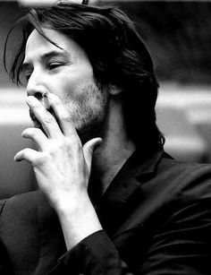 Keanu Reeves, a personal fav. He is cool, way cooler than most fake hollywood types, and genuine in a way that most people cannot even comprehend. Defines the art of the kewl.