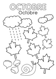 0002 French Games For Kids, Diy For Kids, Crafts For Kids, Autumn Activities, Activities For Kids, French Education, Petite Section, Preschool Class, Nature Journal