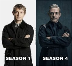 They have all aged so much during all these years of waiting, not to mention their careers (especially Benedict's have skyrocketed). And Benedict is super ripped now.