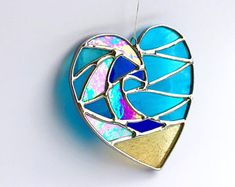 Basics Of Soldering Precious Metals Stained Glass Ornaments, Stained Glass Projects, Stained Glass Patterns, Stained Glass Windows, Dichroic Glass, Fused Glass, Mosaic Glass, Glass Art, Tiffany